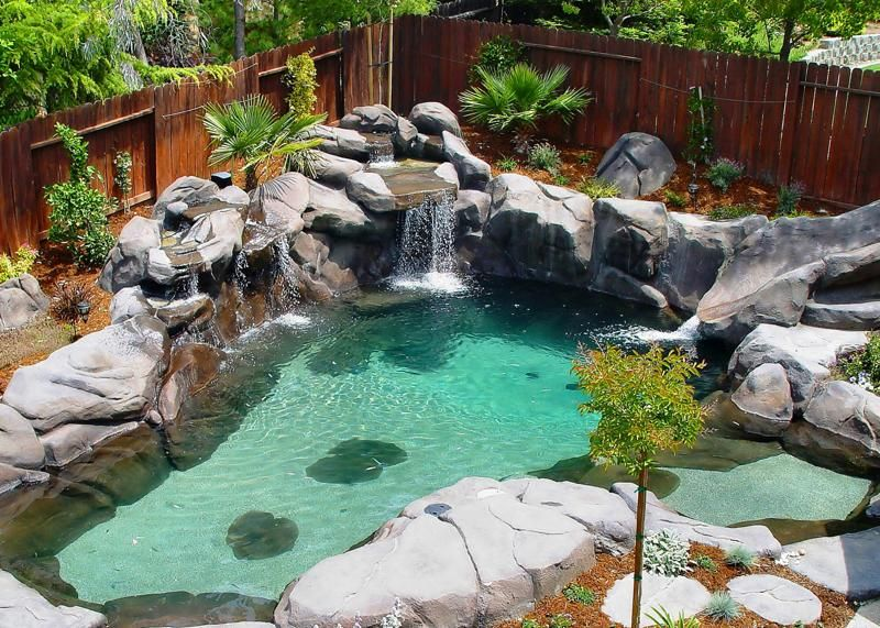 Natural Small Pool Design Ideas 1