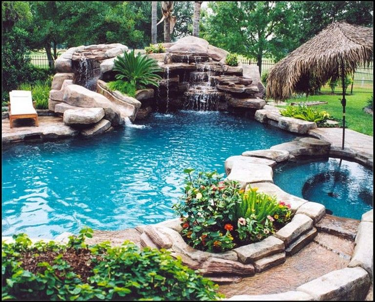 55 Amazing Natural Small Pool Design Ideas to Copy on Your Backyard