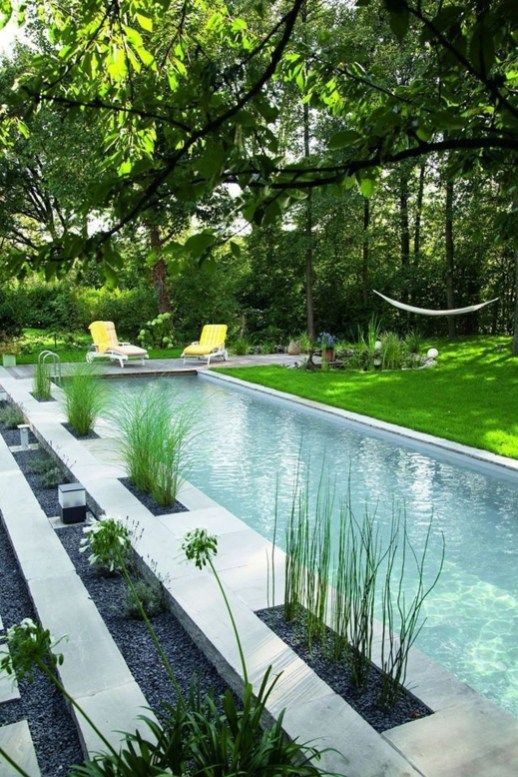 Natural Small Pool Design Ideas