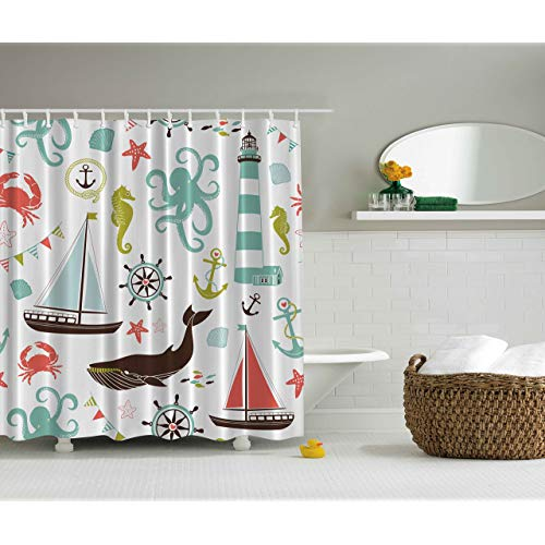 Nautical Bathroom: Amazon.com