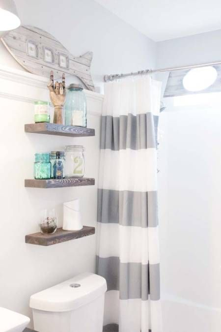BEFORE & AFTER: This Childish Bathroom Goes Glam With Seaside