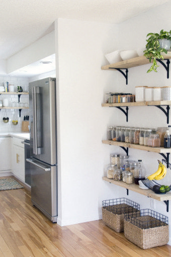 28 Nice Open Shelving Ideas for Minimalist Interior | bi level