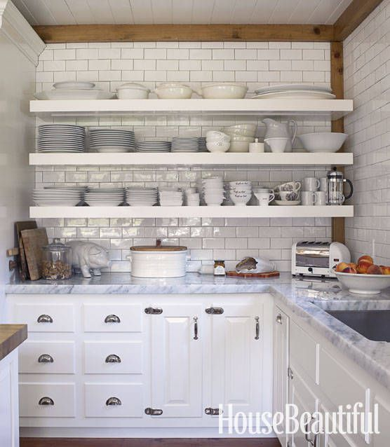 Nice Open Shelving Ideas 3
