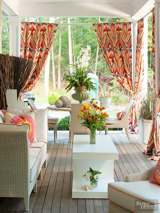 Fabric Makeovers for Outdoor Rooms | Better Homes & Gardens
