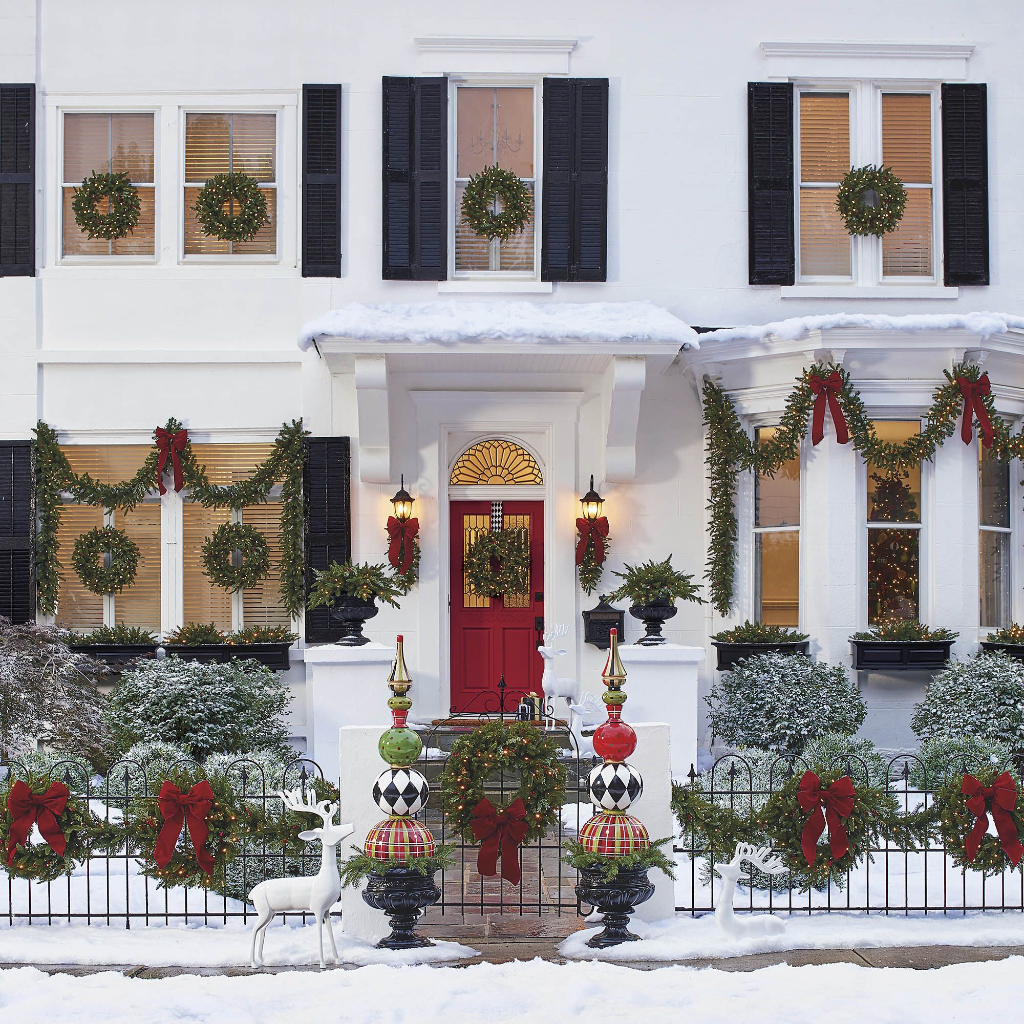 Outdoor Christmas Decoration Ideas.Outdoor Decoration For Christmas Ideas Savillefurniture