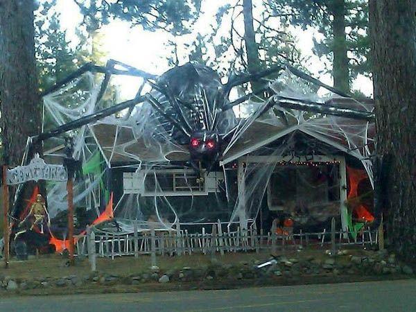 15 Brilliant Outdoor Halloween Decorationsu2026 | Halloween! | Outdoor