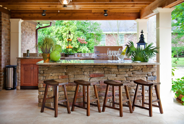 20 Beautiful Outdoor Kitchen Ideas - 101 Recycled Crafts
