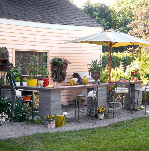 Small Outdoor Kitchen Design Ideas | Acaal