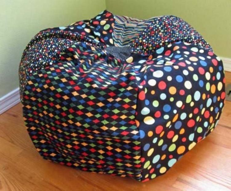 60+ ATTRACTIVE PATTERNED BEAN BAG CHAIRS IDEAS | Bean bag chair