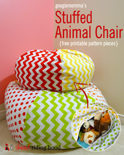 Patterned Bean Bag Chairs Ideas 4