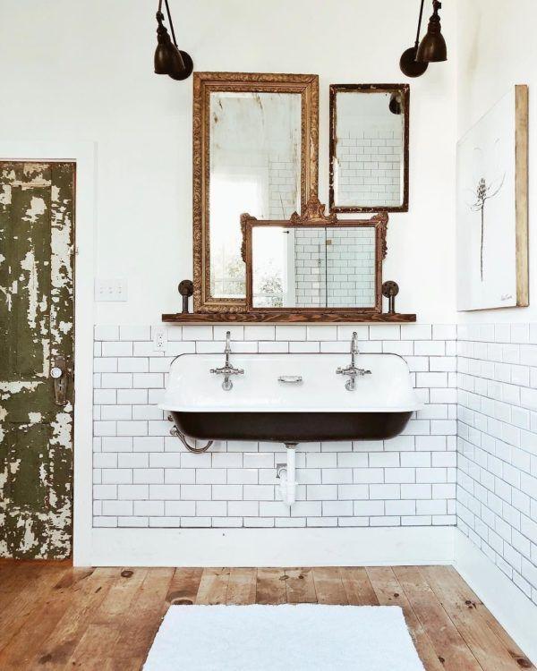 100 Cozy Farmhouse Bathroom Decor Ideas You Can Easily Copy | FUTURE