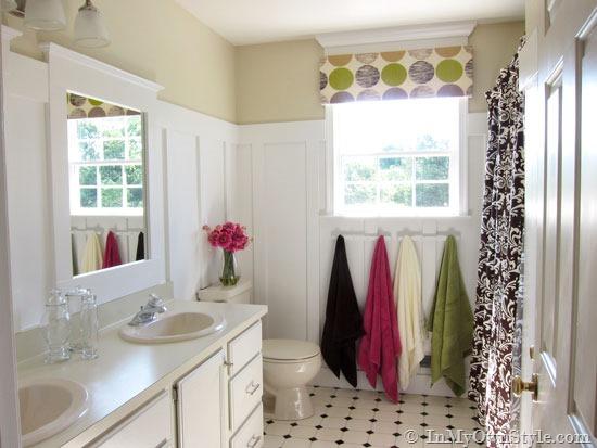 DIY Home Improvement: Budget Bathroom Makeover | InMyOwnStyle.com