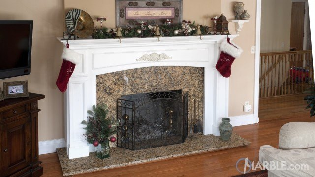 85 Most Popular Fireplace Mantel Design Ideas in 2019 | Marble.com