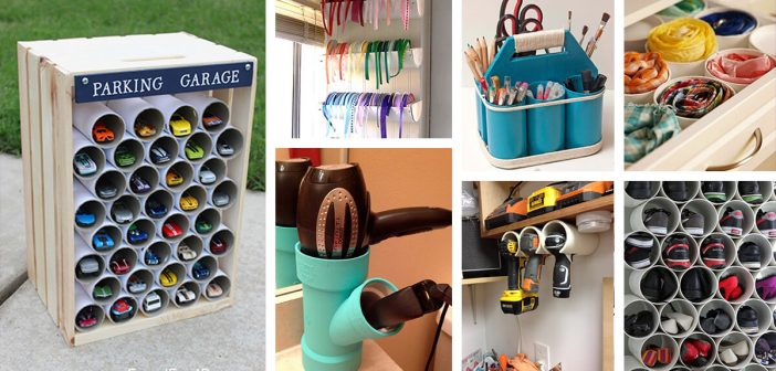 26 Best PVC Pipe Organizing and Storage Projects (Ideas and Designs