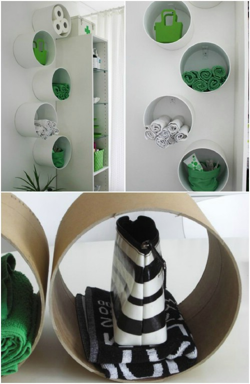 Pvc Pipe Organizing Storage Ideas 7
