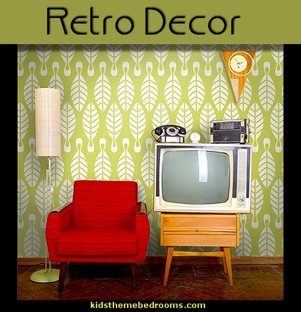 Retro theme decorating ideas | theme bedroom decorating ideas