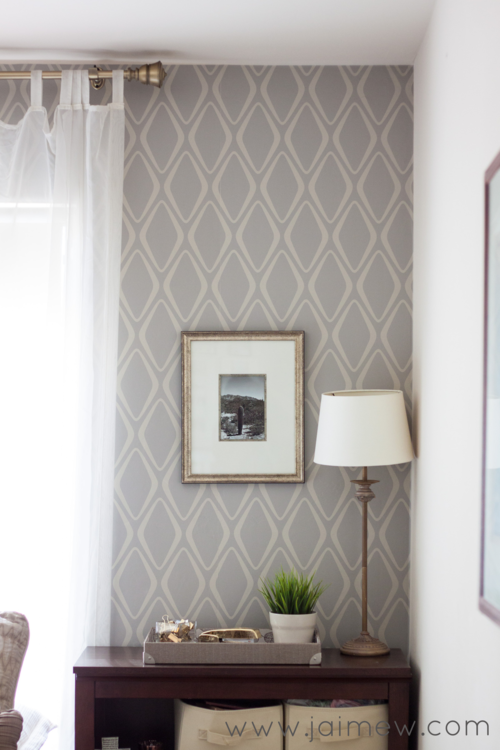 Retro Home Decor Ideas ~ retro modern removable wallpaper accent
