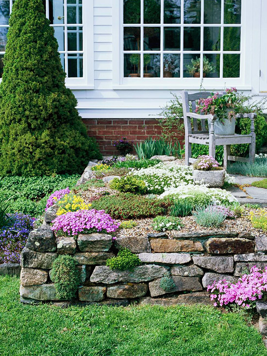 Rock Garden Design Ideas | Better Homes & Gardens