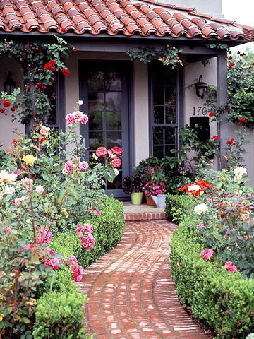 Front-Yard Rose Garden Plan | Better Homes & Gardens