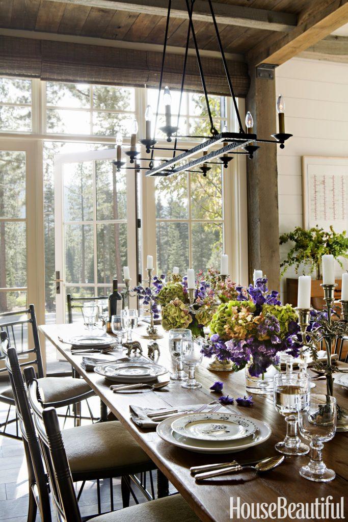 Rustic Dining Room Designs 7