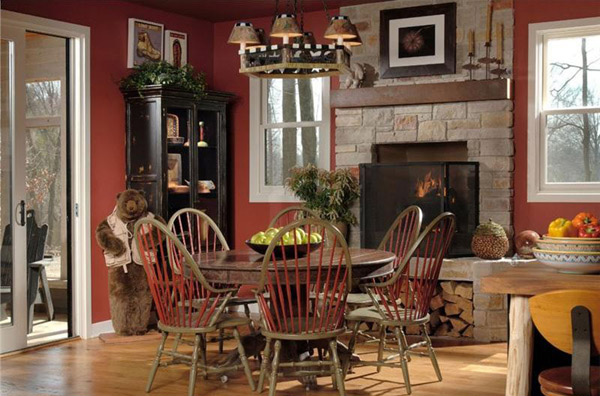 Rustic Dining Room Designs 8