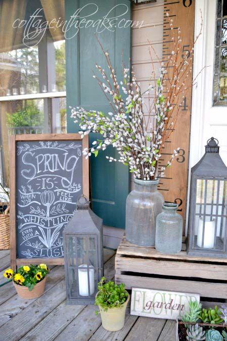 50+ Fantastic Rustic Farmhouse Porch Decor Ideas | Farmhouse Decor