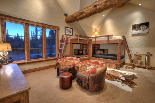 Rustic Kids Room Designs