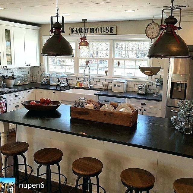 Rustic Kitchen Farmhouse Style Ideas 8