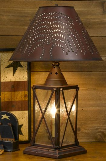 Rustic Table Lamps Design Ideas 1