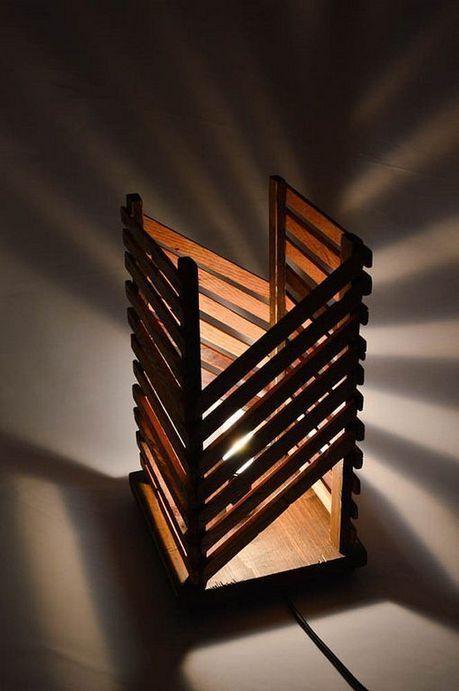 40+ Beautiful Rustic Wooden Lamp Design Ideas | home decor ideas