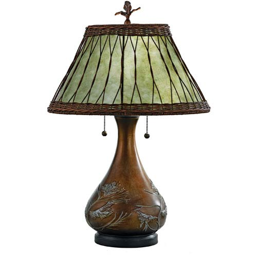 Rustic Table Lamps Table Lamps For Cabin Or Lodge | Bellacor