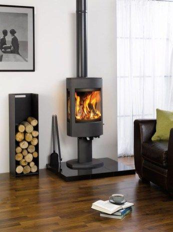 42 Lovely Scandinavian Fireplace To Rock This Year | Køkken