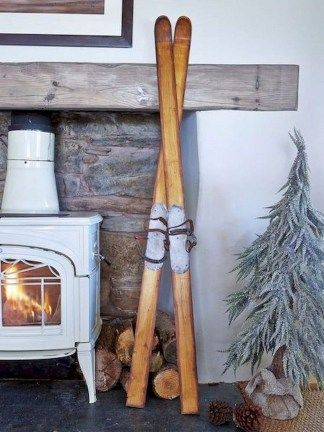 42 Lovely Scandinavian Fireplace To Rock This Year | Interiors