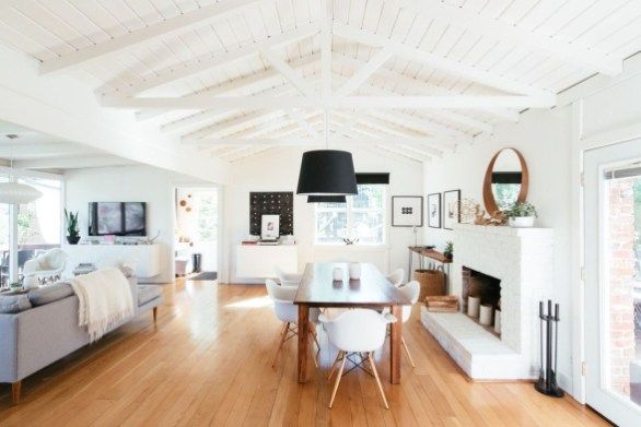42 Lovely Scandinavian Fireplace To Rock This Year | Kamin