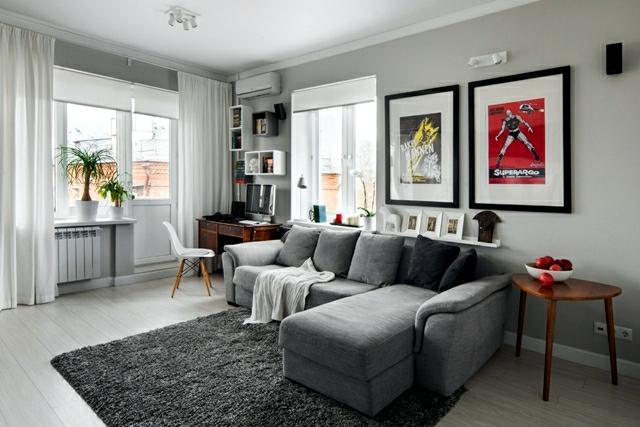 Scandinavian Style Interior Apartment Ideas