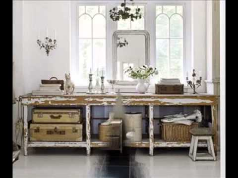 Shabby chic bathroom decor ideas - YouTube