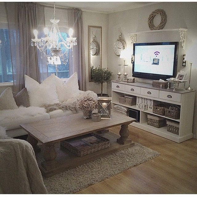 9 Shabby-Chic Living Room Ideas to Steal | French County & Shabby