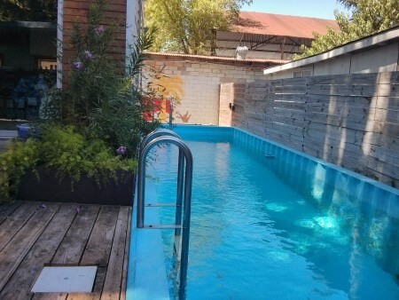 DIY Pool made from Shipping Containers | SANI-TRED®