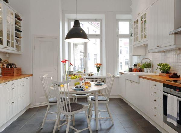 Simple and cozy kitchen design   VIZA 613   Kök, Interiör