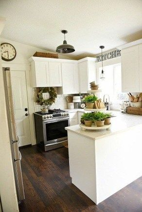 Simple And Cozy Kitchen Design 23 | House ideas in 2019 | Pinterest