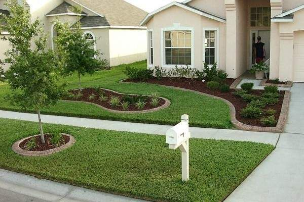 Simple Front Yard Landscaping Design Ideas 2