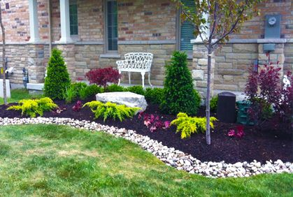 Simple Front Yard Landscaping Design Ideas 3