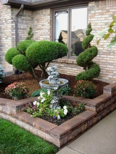 Simple Front Yard Landscaping Design Ideas 7