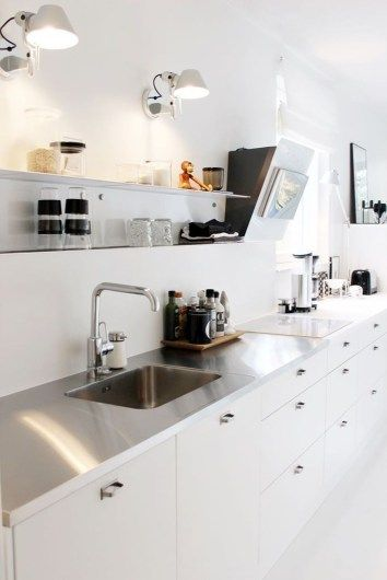Simple Modern Scandinavian Kitchen Inspirations