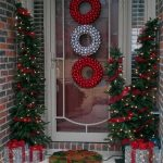 Simple Porch Chirstmas Design