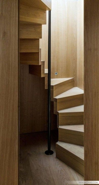 46 Simple Small Stairs To Inspire | Int | Stairs | Escalera casa