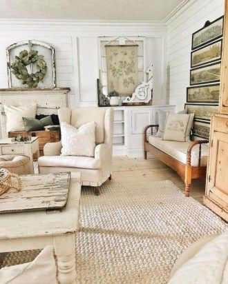 36 Simply French Country Home Decor Ideas | Decorating | Farmhouse