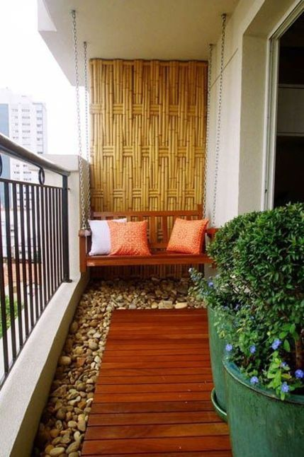 Fabulous Small Apartment Balcony Decor Design Ideas 54 | Patios in
