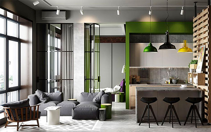 50 Small Studio Apartment Design Ideas (2019) u2013 Modern, Tiny