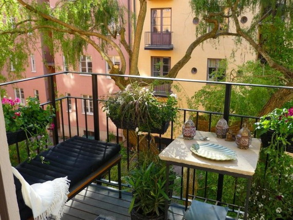 Amazingly Pretty Decorating Ideas for Tiny Balcony Spaces - Stylish Eve